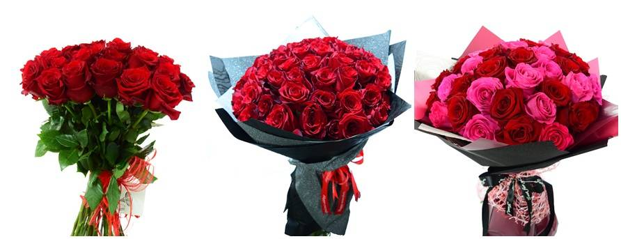 Delivery of flowers and bouquets of roses from LaRose Flower Shop
